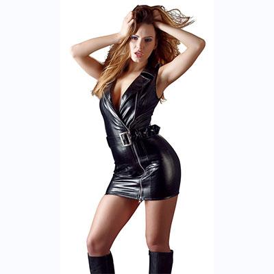 Leather clothing γυναικειο