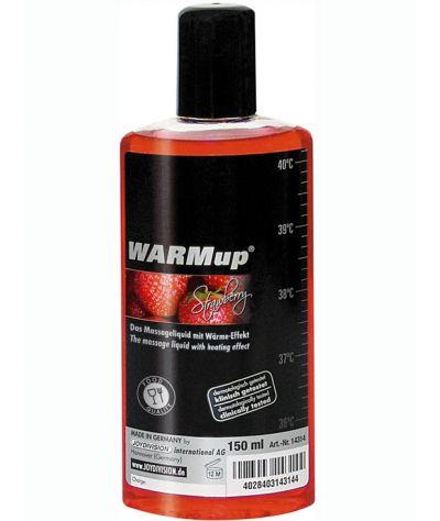 Θερμαντικό λάδι φράουλας 150 ml.βρώσιμο.
