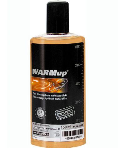 Warm caramel oil. Λάδι θερμαντικό καραμέλα βρώσιμο 150 ml.
