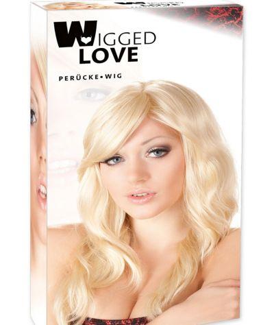 Wavy Blonde Wig one size