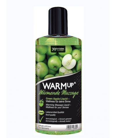 WARMup masage oil Green Apple edible 150 ml. Θερμαντικό λάδι μασάζ βρώσιμο.