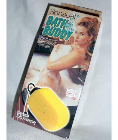 Sensual bath vibr sponge. Σφουγγάρι δονητής.